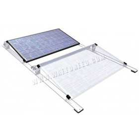 Flat roof racking system for PV panels - from 20 panels