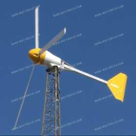 6kW Bergey Excel wind turbine 230VAC 50Hz (Grid Inertie)