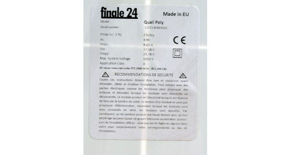 Panasonic HIT N240 SE10 module