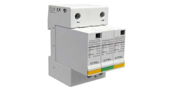Photovoltaic surge protector type 2 - Technoloxgie VG
