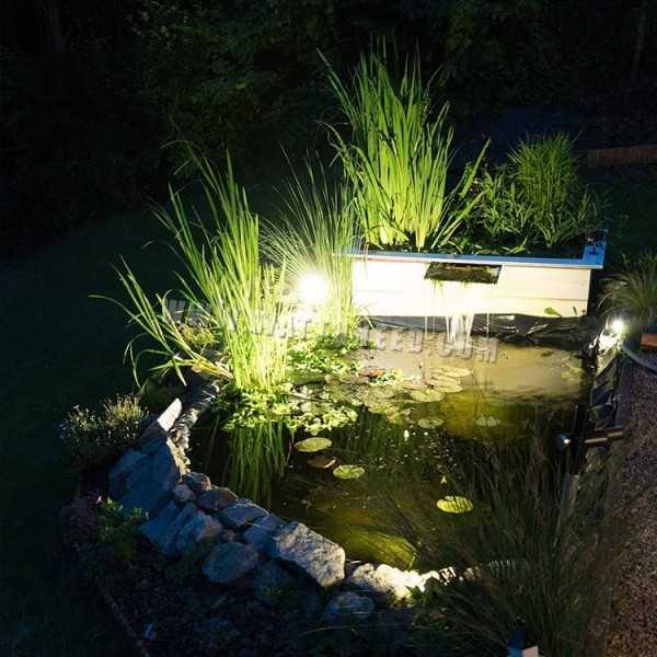 spot led ext rieur 3w 12v. Black Bedroom Furniture Sets. Home Design Ideas