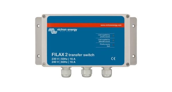 Commutateur de transfert Victron Filax 2