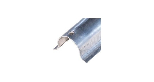 Protection de cables aluminium 35x35 Fixations