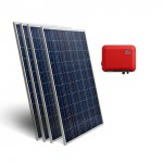 Kit solaire réseau 1500W