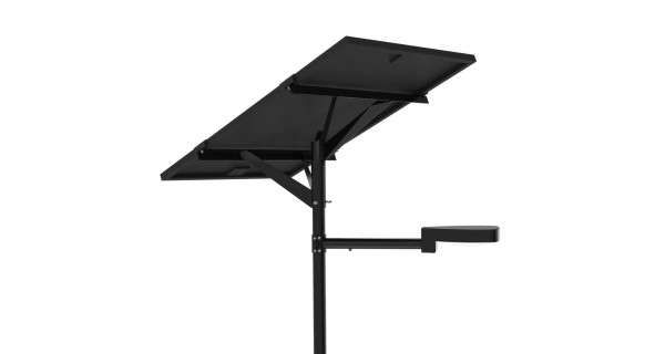 LAMPADAIRE SOLAIRE - LED AUTONOME 30W 12V