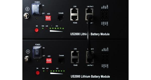 Batterie Lihium Pylontech 4.8KWh