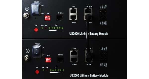 Batterie Lihium Pylontech 7.2KWh