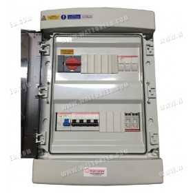 Three-phase electrical box