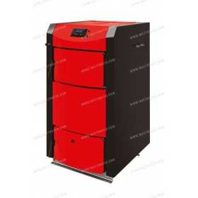 Wood fired boiler 20kW to 40kW (biomass) BURNiT PyroBurn Alpha Plus