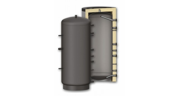 Buffer tank 300 to 2000L P without coil