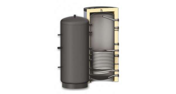 Buffer tank BURNiT PR with one coil 300 to 3000L