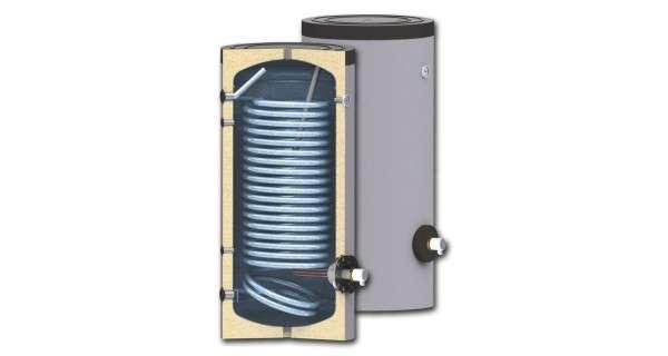 Les chauffe-eaux pour des systèmes de pompe à chaleur BURNiT SWPN avec simple échangeur