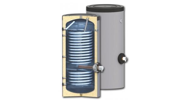 Les chauffe-eaux pour des systèmes de pompe à chaleur BURNiT SWP 2N avec double échangeurs