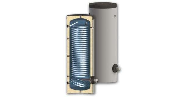 Les chauffe-eaux pour des systèmes de pompe à chaleur BURNiT SWP NL avec simple échangeur