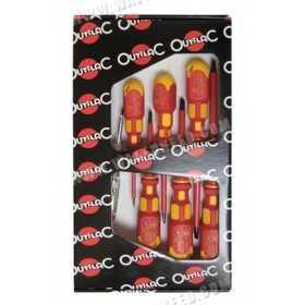 Set 6 screwdrivers VDE 1000 volts OUTILAC
