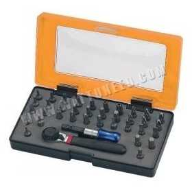 Set of 36 bits of screwdrivers OUTILAC