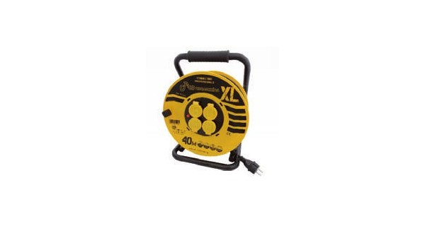 40m cable reel IP44 insulation OUTILAC