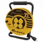 Enrouleur de câble 40m isolation IP44 OUTILAC
