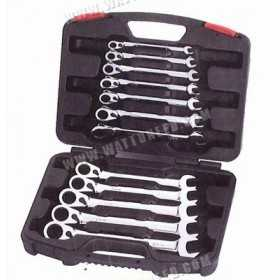 Box of 12 ratcheting combination wrench reversible OUTILAC