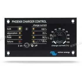 Panneau de contrôle Victron Phoenix Charger (PCC)