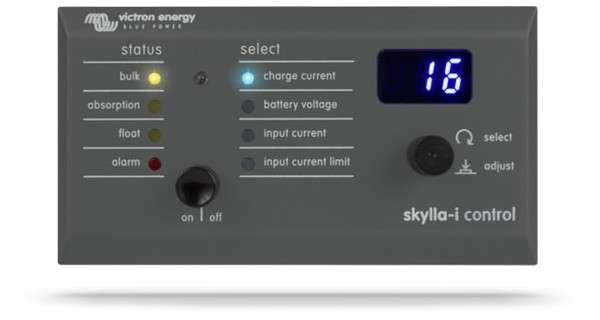 Panneau de contrôle Victron Skylla-I GX (90°)