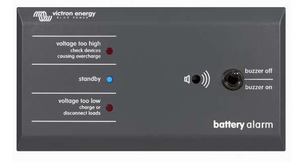 Alarme de batterie Victron GX