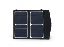 12W foldable solar panels with charger