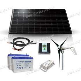 Kit solaire 400Wc - 200Ah - 12V