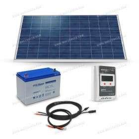 Kit solaire 260Wc - 100Ah - 12V