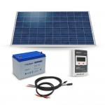 Kit solaire 260Wc 100Ah 12V