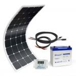 Kit solaire MX Flex 100Wc 55Ah 12V