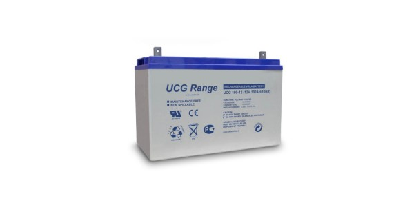 Batteries Gel 100Ah