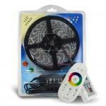 Ruban LED multicolore 5050 RGB kit complet RF