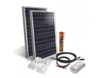 Camper van off-grid solar kit 2x50Wp - 12V