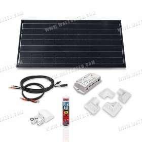 Camper van off-grid solar kit 100Wp - 12V