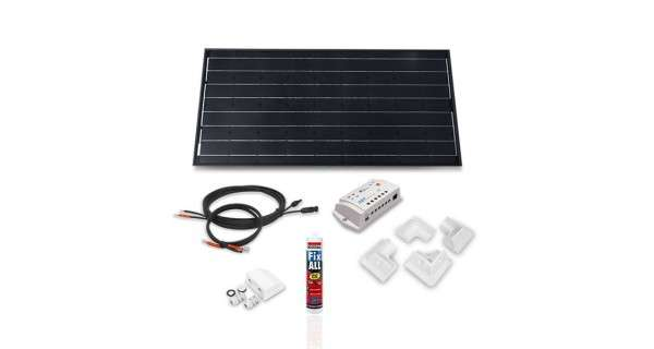 Camper van off-grid solar kit 100Wp - 12V