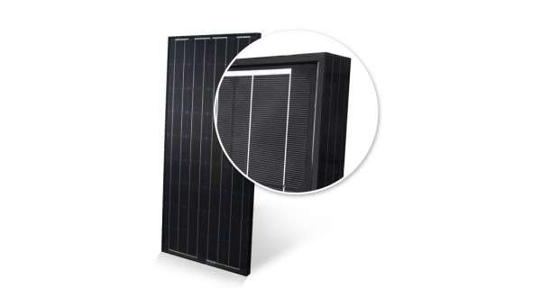 Off-grid solar kit 100Wp - 55Ah - 12V