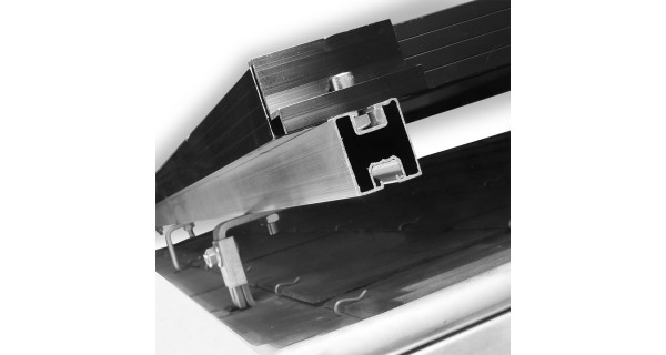 Mounting system for slates roof