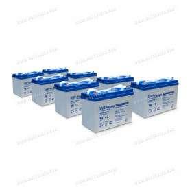 Parc de 10kWh batterie AGM