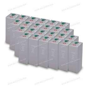 Park of 24 kWh battery OPzV 48V