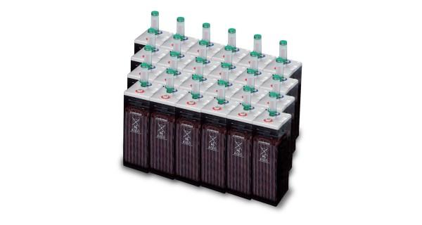 43 kWh batterie OPzS 48V battery park