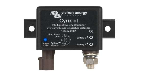 Victron coupleur de batteries Cyrix-ct - 120A / 230A / 400A