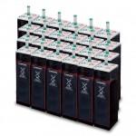 Parc de 156 kWh batteries OPzS 48V