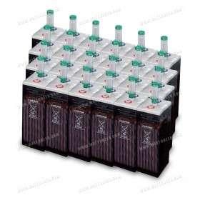 Parc de 30 kWh batterie OPzS 48V - Export