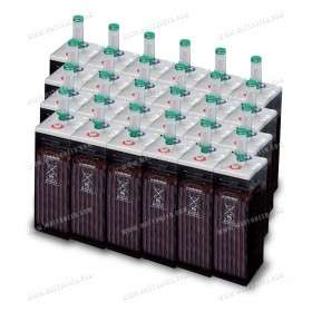Parc de 43 kWh batterie OPzS 48V - Export