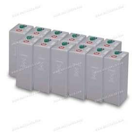 Fleet of 36 kWh batteries OPzV 24V