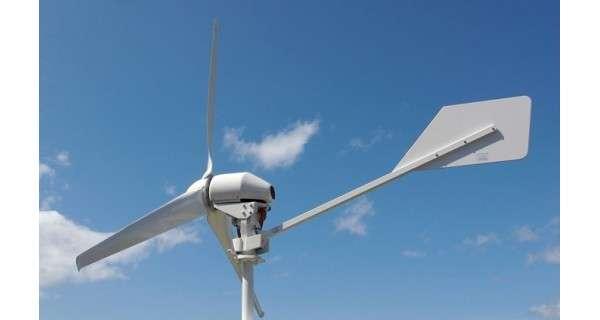 Eolienne ANTARIS 4.5 kW raccordée au réseau