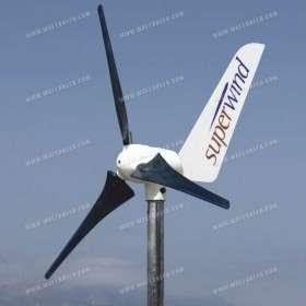 350W Wind turbine Superwind 12V