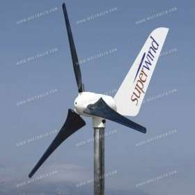 350W Wind turbine Superwind 24V