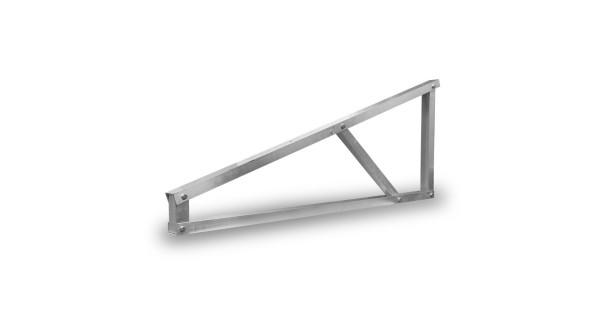 Self-supporting aluminium structure